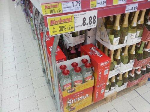 [Kaufland] Sierra Tequila Silver und Reposado 30%!!