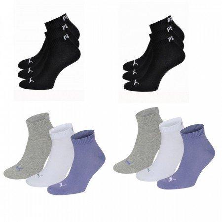 24 Paar Puma Quarter Socken verschiedene Farben für 33,61€