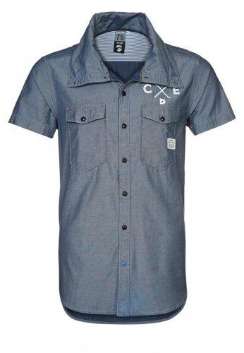 (Zalando)  Jack & Jones IMPORT - Hemd in blue für 15,95€