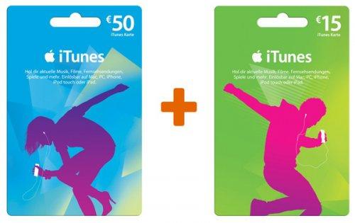 [offline] ITunes Karte über 50€ kaufen und gratis eine zusätzliche im Wert von 15€ erhalten @ real am 22. + 23.08.