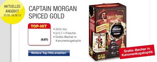 Captain Morgan in Geschenkepackung 9,87 € incl.MWSt. offline bei Metro