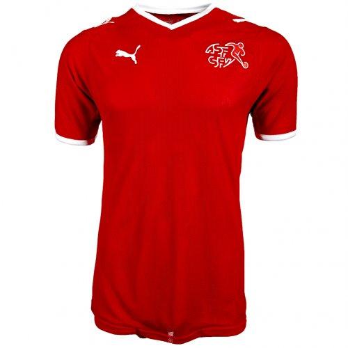 Schweiz Fußballtrikot für 14,99€ + 3,95€ Versand @Ebay