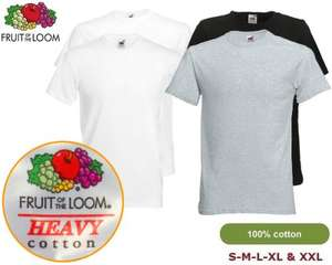 12er Pack Fruit of the Loom T-Shirts, Shirts, 100% Baumwolle, 33,45 Euro