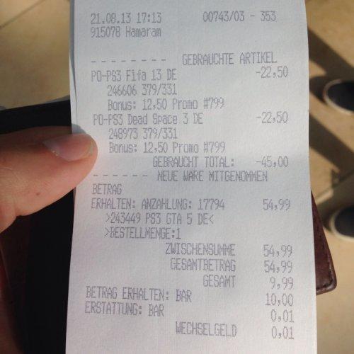 GTA V und andere für 29€ Deutschlandweit?