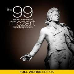 Amazon - MP 3 Album The 99 Most Essential Mozart Masterpieces (Full Works Edition) Nur 1,63 €