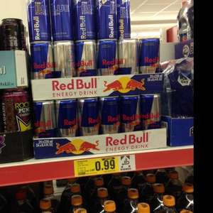 Netto: red bull 99 Cent
