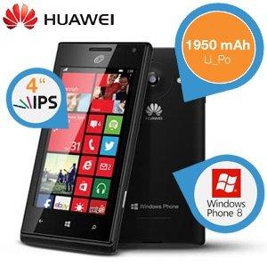 IBOOD - HUAWEI Acsend W1 - IPS - WINDOWS 8 Phone - 129,95 € !!!