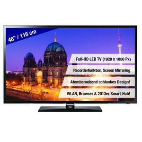 Samsung UE46F5370 für nur 499€ [ebay WOW]  46 Zoll Full-HD, LED