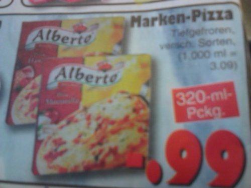 LOKAL? Pizza Alberto für 0,99 Euro  Jawoll-Markt Kiel-Schwentinental