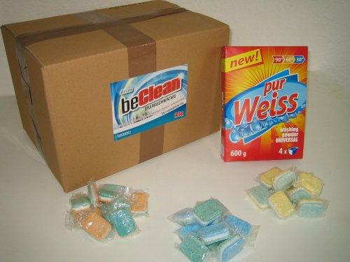 500 Spülmaschinentabs in Folie + Waschmittel-Probierpaket für 16,99 Euro inkl. Versand