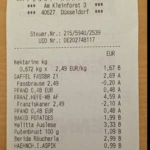 [Lokal Düsseldorf] Franziskaner Weizen alkoholfrei 6 x 0,5 l zzgl. Pfand