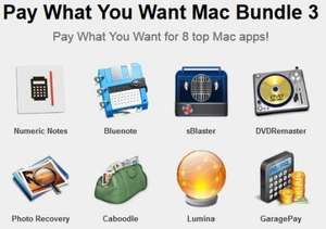 (MAC) Das Pay What You Want Mac Bundle 3.0 von Paddle mit 8 Apps