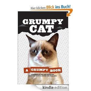 Grumpy Cat: A Grumpy Book [Kindle Edition ]  für 5,76€ @ Amazon