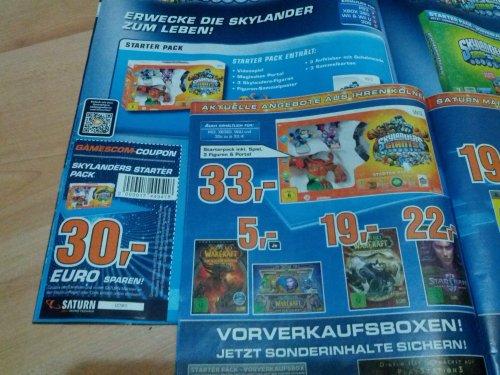 Skylanders Starter Pack Wii 3€ [Lokal Köln]