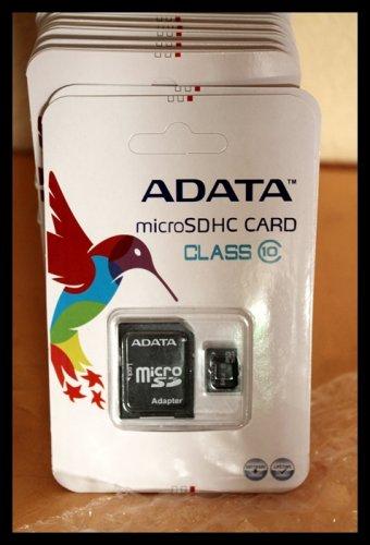 64GB microSDHC CLASS 10 von ADATA für nur 31,89 EUR inkl. Versand