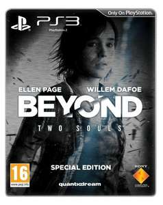 Beyond: Two Souls - Steelbook Special Edition (exklusiv bei Amazon.uk) inkl. Vsk für ca.45 €