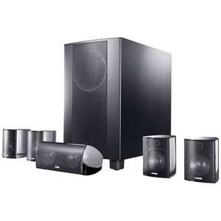 Canton Movie 120 MX schwarz highgloss 5.1 Lautsprechersystem bei Redcoon