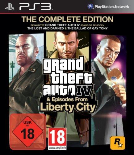 [PS3] GTA IV für 6,19 € und GTA IV: The Complete Edition für 7,99 € @Playstation Store