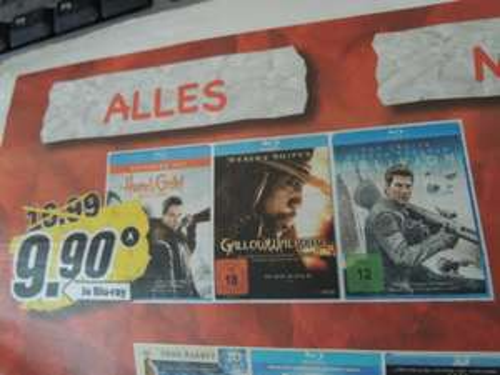 Blu Ray Oblivion, Hänsel und Gretel - lokal MediaMarkt Porta Westfalica - 9,90€