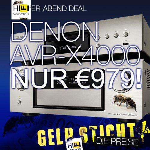 Denon AVR-X4000 Top-AV-Receiver € 979 statt € 1200+ (@Hifi Components)