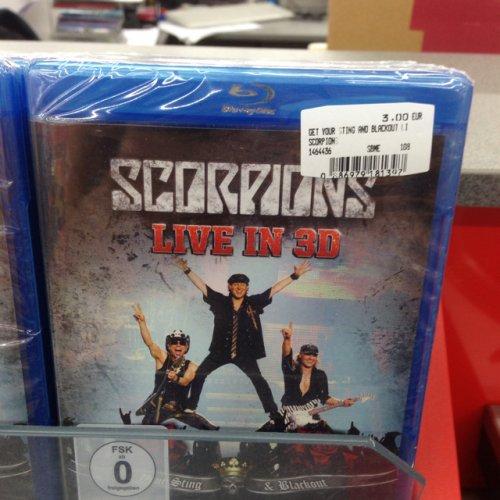 Scorpions Live 3D BluRay (lokal Rostock)