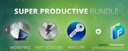 (MAC) AppyFridays Super Productive Bundle mit bis zu 4 Apps für 8,24€