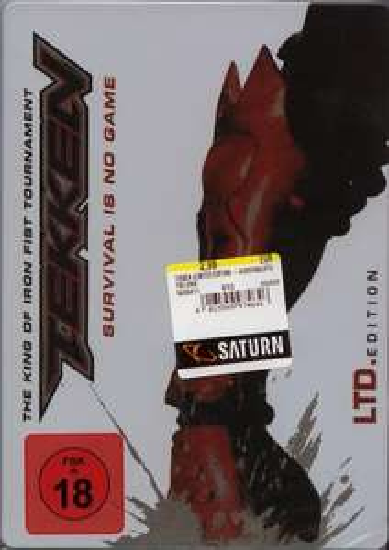 [LOKAL SATURN BREMEN] Tekken der Film Limited Edition Steelbook UNCUT DVD