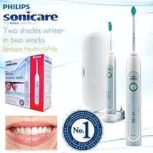 Doppelpack Philips Sonicare Healthy White HX6711 elektrische Zahnbürste