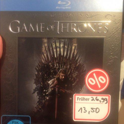 [LOKAL] Weltbild Deggendorf - Game of Thrones Staffel 1 Bluray