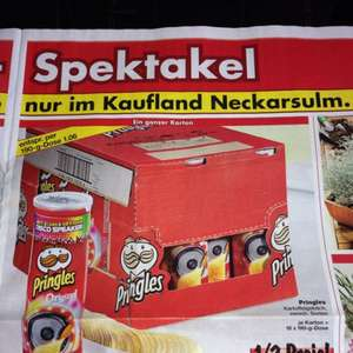 [Kaufland Center Märkte] Pringles für 1,06€
