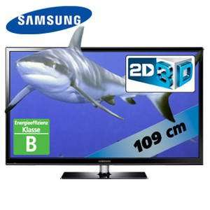 REAL BUNDESWEIT: Samsung Plasma 3D TV PS43F4900 43 Zoll (109 cm) inkl. zweier 3D-Brillen