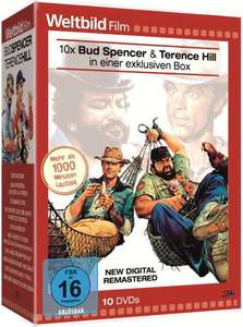 Bud Spencer & Terence Hill 10er-DVD-Box (Weltbild-Edition)