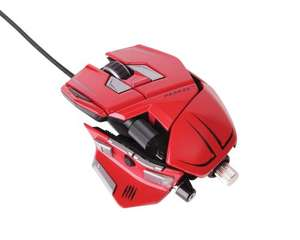 Mad Catz M.M.O. 7 Gaming Maus, 6400 dpi [PC/MAC] Rot für 69€ @Amazon.de