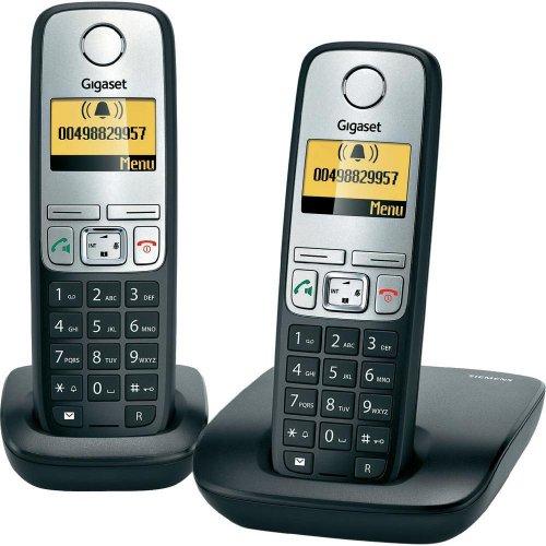 [B-Ware] Gigaset A400 Duo schnurloses analog Telefon (beleuchtetes Display, Schwarz) @ Conrad über Ebay für 19€