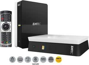 Emtec Movie Cube S120H Multimediaplayer mit 1TB