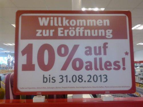 """Lokal""  Rossmann 10% Rabatt auf alles"
