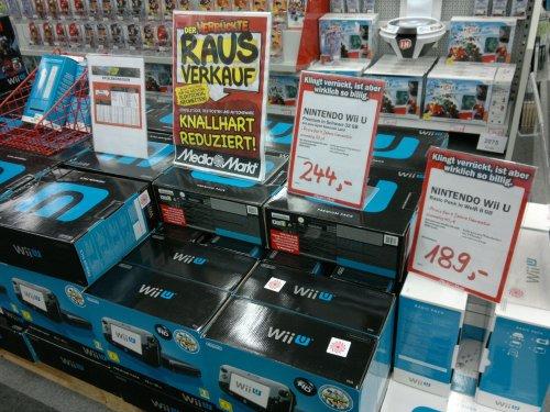 Wii U Basic und Premium im Angebot