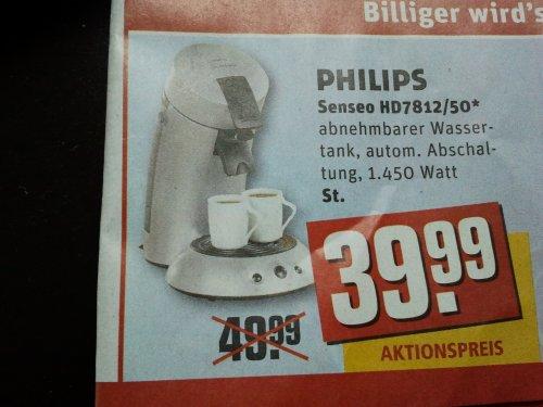 [Rewe Karlsruhe] Philips Senseo HD7812/50