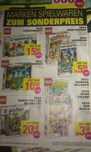 [lokal in Bayern] Lego spiele ab 3,50€ und bis zu 64% reduziert bei Marktkauf