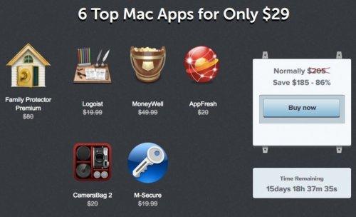 (MAC) Neues Bundle von Macbundler mit 6 Apps für nur 21,66€ - 86% Ersparnis