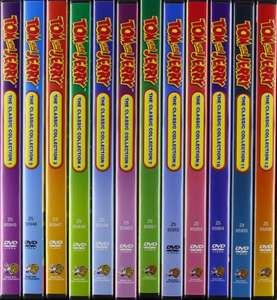 wieder da: Tom & Jerry: The Complete Classic Collection 12 DVDs @Amazon Prime