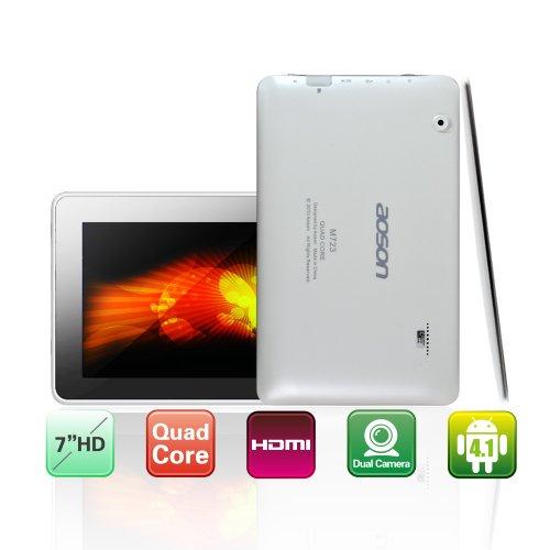 "Aoson M723 7"" HD Android 4.1 Quad Core ATM7029 1.2GHz Tablet 1G/8G HDMI Wi-Fi Dual Kameras  nur  74,25 €  inkl. Versand"