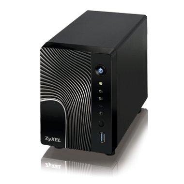 ZyXEL NSA 325 (2-Bay NAS, 1,6Ghz, 512MB RAM, USB 3)