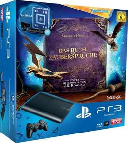 PS 3 Superslim 12 GB + Move + Wonderbook bei Amazon