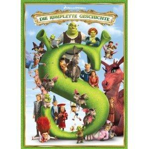 Shrekologie (Shrek 1-4) BlueRay bei Amazon für 46,97 EUR (28% günstiger)