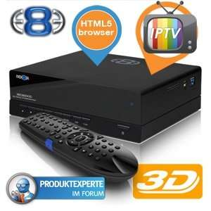 [iBood] Mediaplayer Mede8er MED800X3D für 129,95€ + 5,95€ VSK (ohne HD)