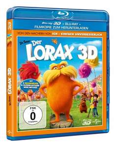 Der Lorax 3D (+ Blu-ray + Digital Copy) [Blu-ray 3D] für 8,97 € [Amazon.de]