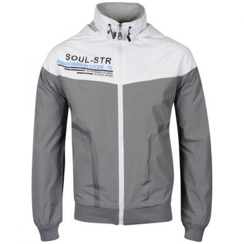 'Soul Star' Men's Kray Hooded Jacket grau @Zavvi