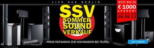 [Teufel] Sommer Sound Verkauf - z.b. Concept B20