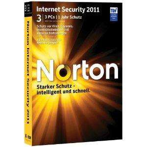 Norton Internet Security 2011 - 3 PCs für 27€ @ Amazon